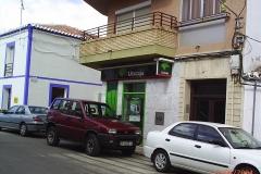 La oficina de Unicaja en Brazatortas - año 2004