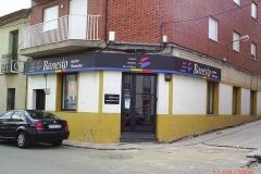 La antigua oficina de Banesto en Brazatortas - año 2004