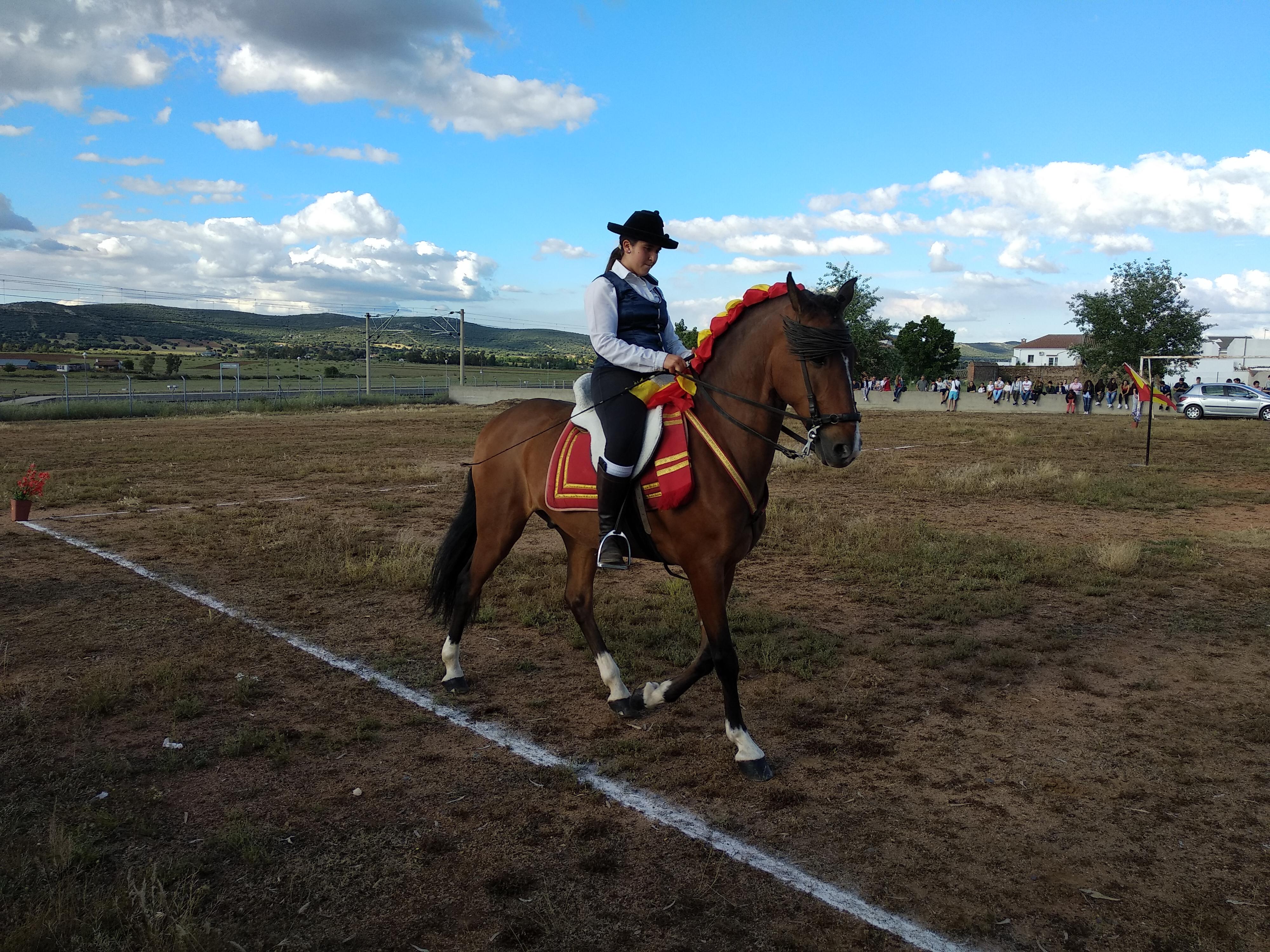 El bailar de los caballos