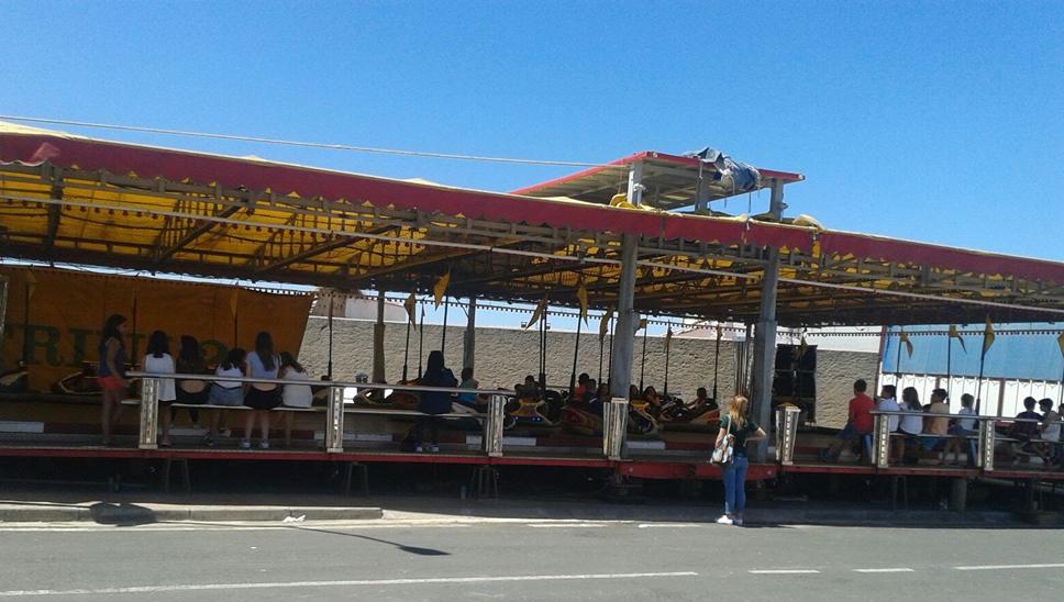 Un clásico en las fiestas de la Divina Pastora: La pista de coches de choque Mari Trini