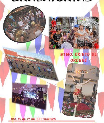 Programa de fiestas cristo de orense 2018